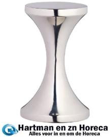 DM958 - Koffie tamper 9,5(h)cm. RVS.