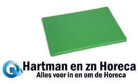 HC875 -Hygiplas LDPE snijplanken groen
