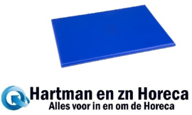 HC863 -Hygiplas HDPE snijplank blauw