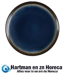 CS297 -Olympia Nomi ronde tapascoupeborden blauw-zwart 19,8cm