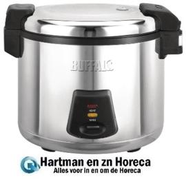 J300 - Buffalo professionele rijstkoker 6 Liter
