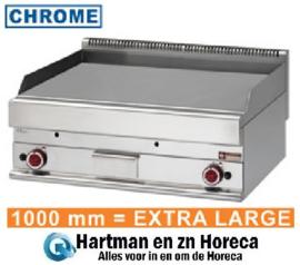 G65/PL10T - Bakplaat op gas EXTRA-BREED met vlakke plaat mm (BxDxH) : 1000x650xh280/380 DIAMOND