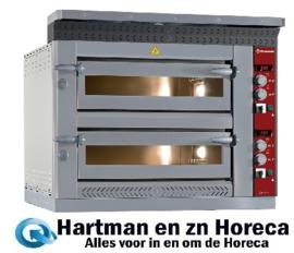 LD12/35-N - Elektrische pizzaoven, 2x 6 pizzas Ø 350 mm DIAMOND