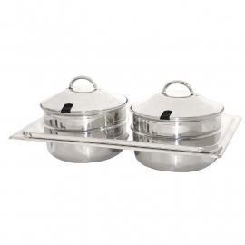 HHCB723 - Olympia Bain Marie set / Chafing Dish  voor K409