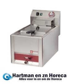 ES6/F8T-N  Elektrische friteuse 8 liter, -Top- DIAMOND