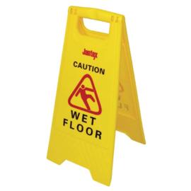 "L416 - Jantex waarschuwingsbord ""Wet floor"""