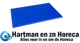 F159 - Hygiplas antibacteriële HDPE snijplank blauw