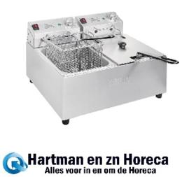 FC259 -Buffalo dubbele friteuse 2x5L 2800W met timer