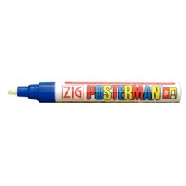 Y991 - Zig posterman weerbestendige stift blauw 6 mm