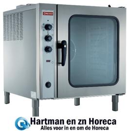 CFE 101/R- Elektrische convectie oven, 10x GN 1/1, automatische luchtbevochtiger DIAMOND