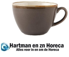 HC392 -Olympia Kiln cappuccinokopjes grijs 34cl