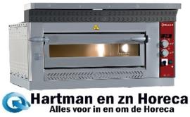 LD6/35-N - Elektrische pizzaoven, 2x 4 pizzas Ø 350 mm DIAMOND