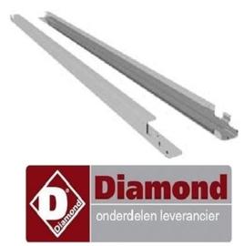 AICG-4S-L - Paar geleiders rechts + links voor rijpingskast DIAMOND
