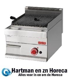 GL919 -Gastro M lavasteen grill op gas 65/40 GRL