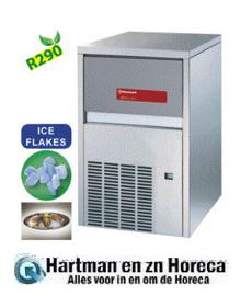 -ICE115AS-R2 KorrelijsmachineICE115AS-R2 113 kg met lucht koeling plus 30 kg reserve DIAMOND HORECA