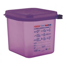 962162 - VOEDSELDOOS ANTI-ALLERGEEN Araven  H150  - 2.6 liter