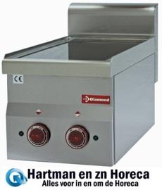 E60/2VC3T - Vitrokeramische fornuis 2 kookplaten -Top-DIAMOND