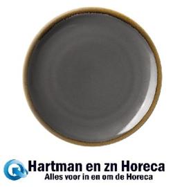 HC386 -Olympia Kiln ronde coupeborden grijs