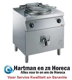G22/M1008-N - Gas kookketel 100 liter, directe verwarming, op meubel DIAMOND