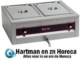 921251 - Bain Marie - RVS - 2 X 1/1 GN - Max Pro