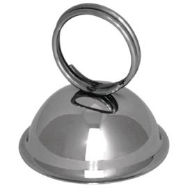 DM220 - Olympia RVS menukaarthouder ring