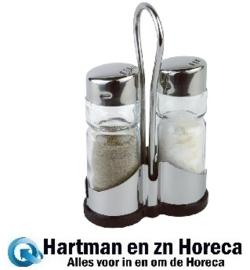 CF295 -APS peper- en zoutstel met houder