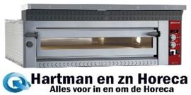 "LD12/35XL-N -  Elektrische pizzaoven ""extra large"", 2x 6 pizza's Ø 350 mm DIAMOND"