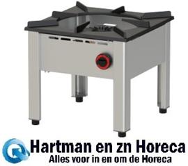 RGH-50 - Hokker Lage gasbrander mm (BxDxH) : 500x500xh450 DIAMOND