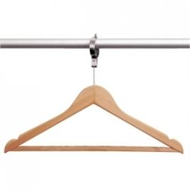 T585 - Garderobehanger + anti diefstal haak