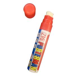 Y987 - Zig posterman weerbestendige stift rood 6 mm
