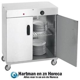 710062 - Bordenwarmer voor 120 Borden - 1000W - 72x44x(h)101cm