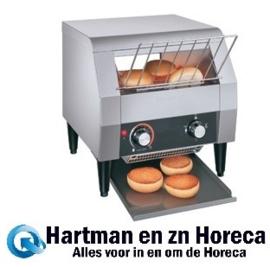 TM-10H - Broodrooster / Toaster met lopende band 6 sneetjes brood per minuut DIAMOND