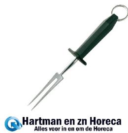 C423 - Hygiplas vleesvork 15cm zwart