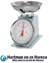 F172 - Weighstation grote keukenweegschaal 5 kg