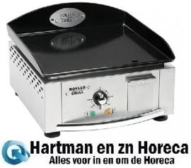 304140 - Elektrische Bakplaat 40 x 40 cm-glad - Roller Grill