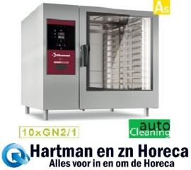 SBES/XC-12 - Combisteamer elektrische oven met boiler 10x GN2/1+ Cleaning DIAMOND