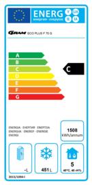 960710211 - ECO PLUS bewaarvrieskast GN 2/1  F 70 CCG HD L2 4N GRAM