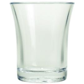 CB870 - Polystyreen shotglas 2,5cl - per 100 stuks