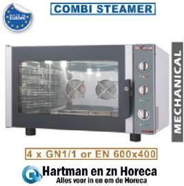 WR-FCV4-M - Combi Steamer elektrische 4x GN 1/1 of 600x400 DIAMOND Diverso