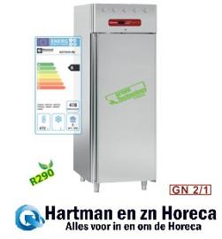 AD1N/H-R2 - Koelkast 700 liter geventileerd, 1 deur GN 2/1 DIAMOND Gold Line PLUS