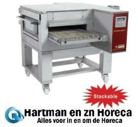 FTEV 50/85-N - Elektrische pizza band tunnel-oven geventileerd, breedte 500 mm DIAMOND