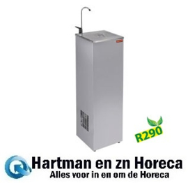 CR-18P-30-R2 Gekoelde waterfontein, R.V.S., 30 liter-uur DIAMOND