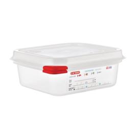 GL264 - Araven GN1/6 voedseldoos met deksel 1,1 Liter