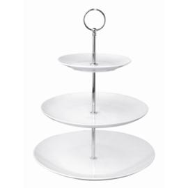 GG881 - Olympia high tea cake etagère met 3 niveaus