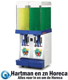 LUKE-2M -  Koude dranken dispenser 2 x 9 liter DIAMOND