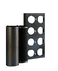 08214 - Momtageraam koolstofpatronen 610 x 610 mm