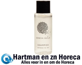 CB654 - Geneva Guild shampoo 30ml - Prijs per 300 stuks.