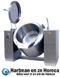 EMB/300I - Elektrische kantelbare kookketel 300 liter, indirecte verwarming DIAMOND