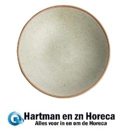 FA340 -Olympia Canvas ondiepe schalen crème 20cm