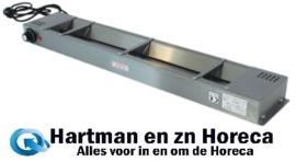 153CM2A - Voedselwarmer 860 x 150 x H60 mm ter behoeven van Chefrek